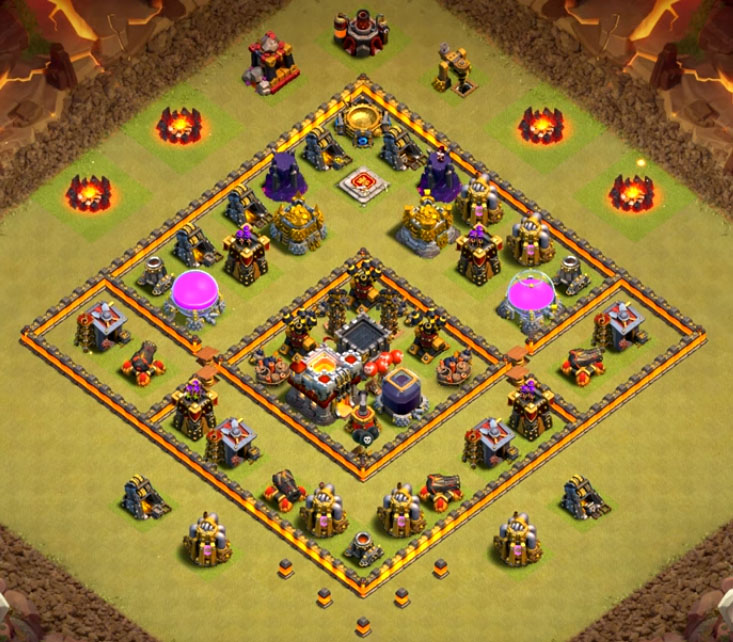 Image result for town hall 7 war base