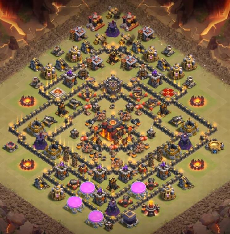 th10 war base anti everything