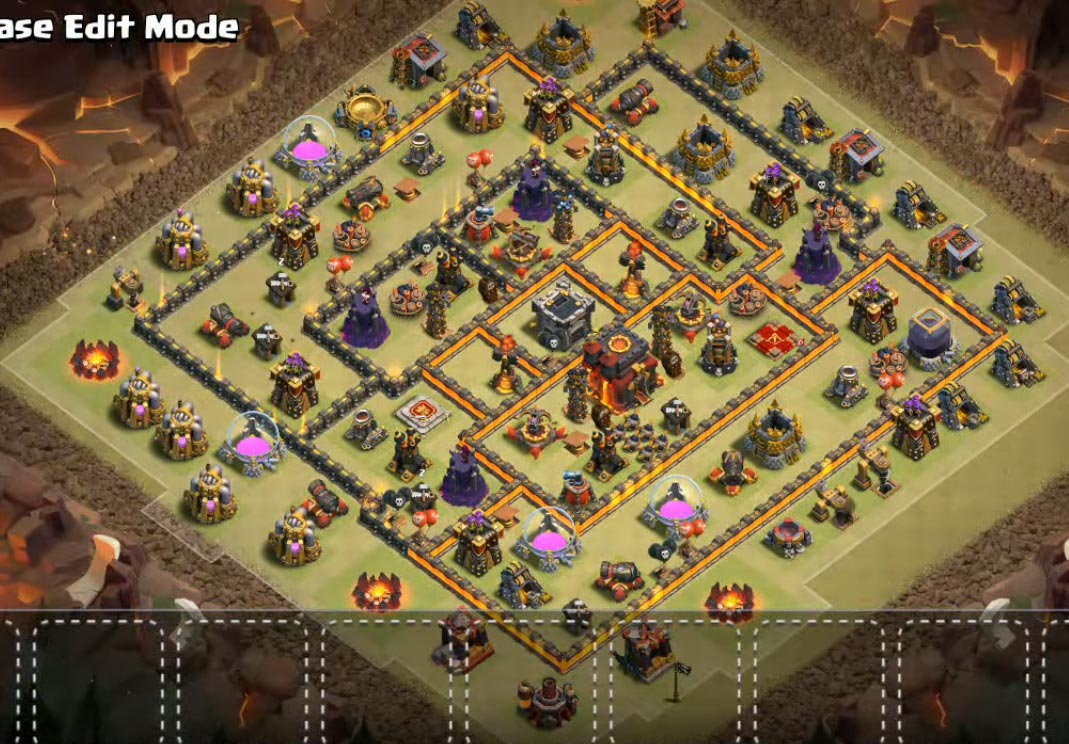 th10 war base anti vakyrie and anti everything
