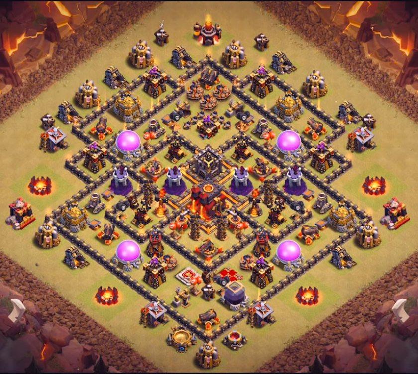 best town hall 10 war base