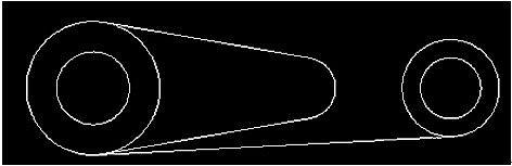 浩辰CAD2011機械_(三十)公切線繪製|浩辰CAD製圖及應用 - Coccad.com