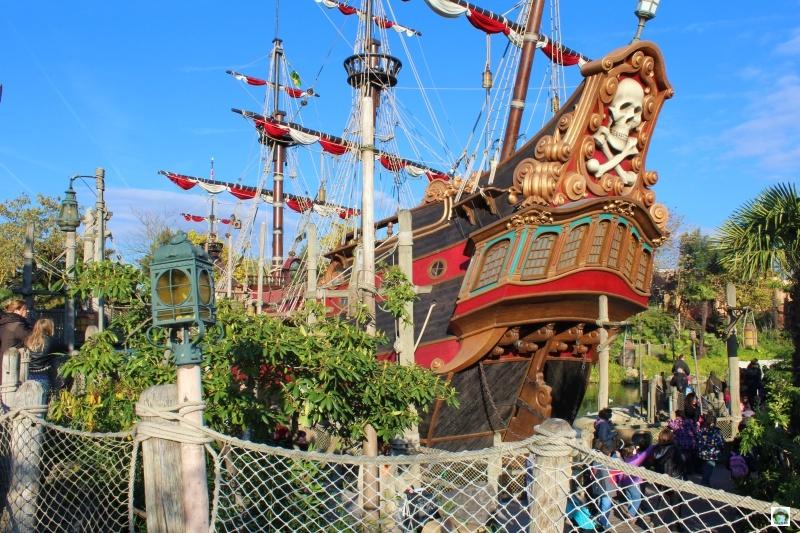 Il vascello dei Pirati Disneyland Paris