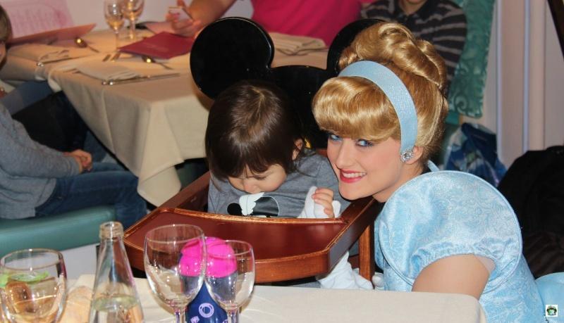 Pranzo con le principesse Disneyland Paris