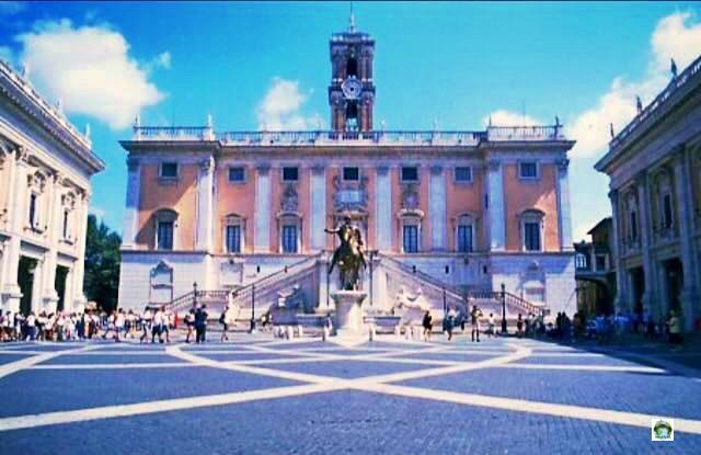 Roma Il Campidoglio - Cocco on the road