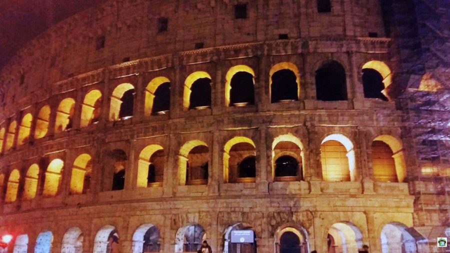 Roma Il Colosseo - Cocco on the road