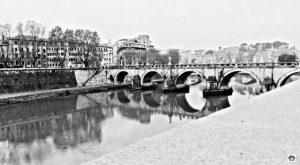 Roma il Tevere - Cocco on the road