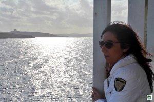 Sul traghetto Gozo