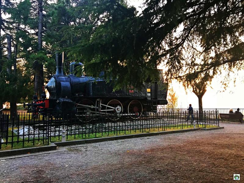Locomotiva al Castello di Brescia