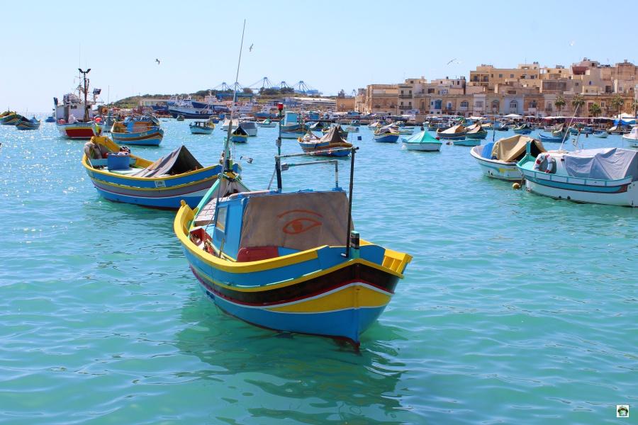 Cosa vedere a Malta le barche colorate