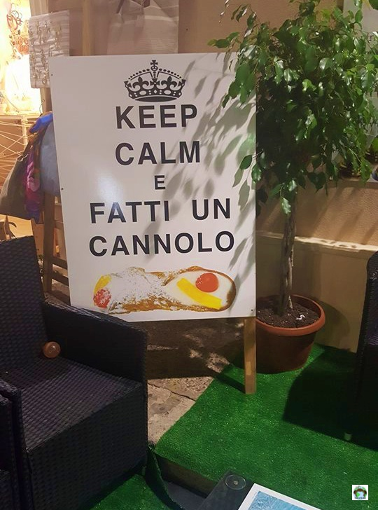Il cannolo siciliano