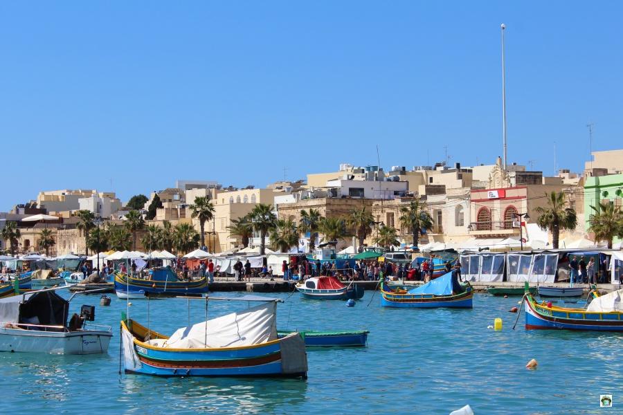 Le luzzu a Malta