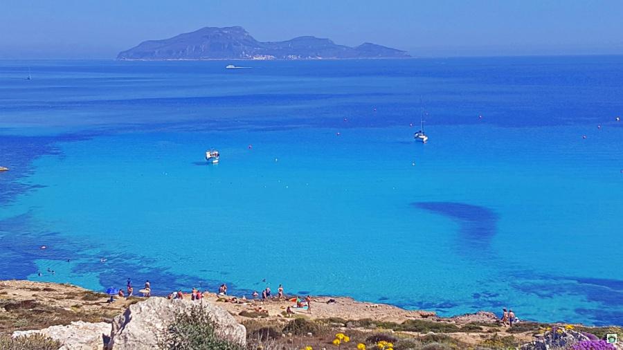 Le spiagge a Favignana Sicilia