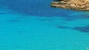 Laguna blu Comino mare