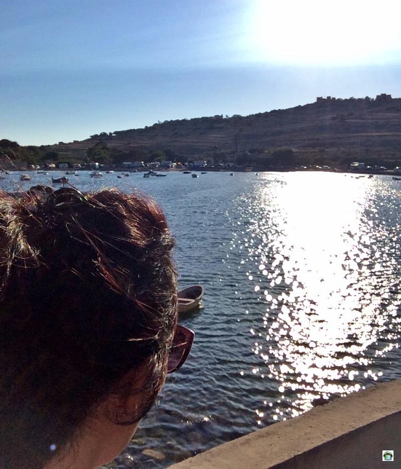 io che guardo il mare