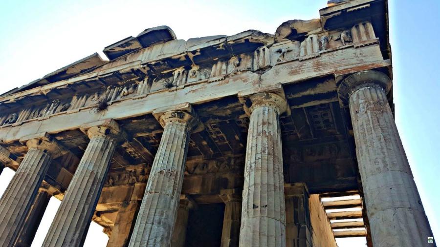 Atene Acropoli - Cocco on the road