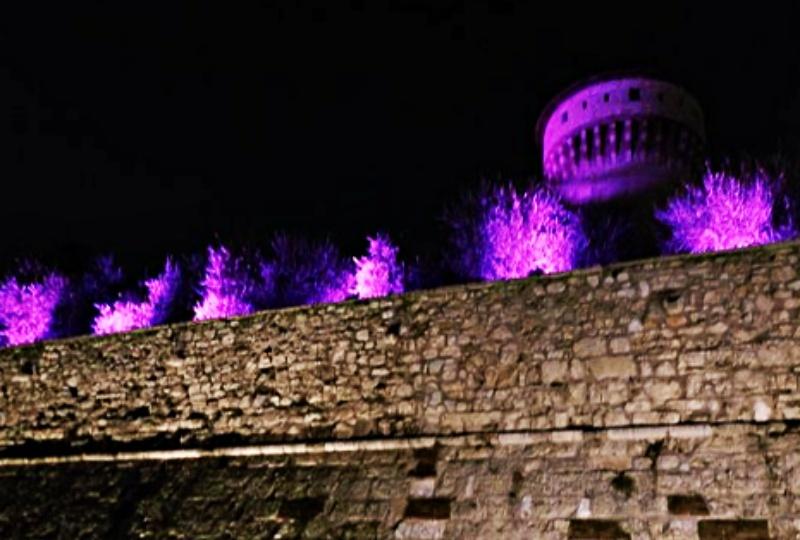 Festival delle luci a Brescia