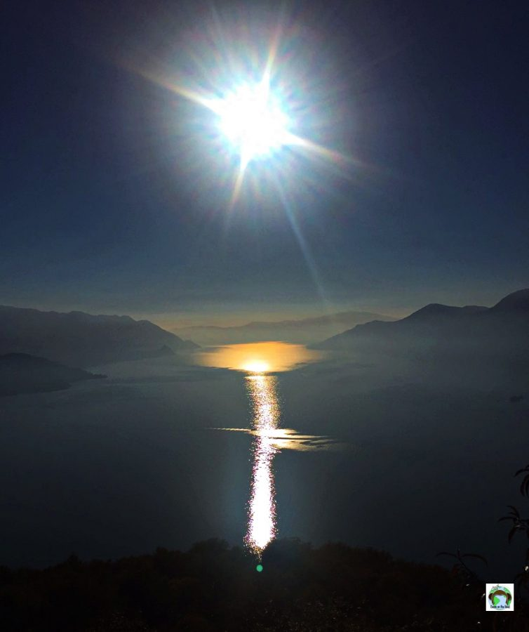 Panorama Lago Santa Croce - Cocco on the road