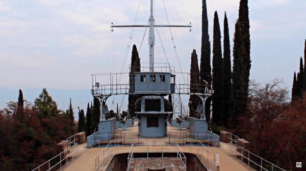 Nave Puglia Il Vitoriale degli italiani Gardone Riviera
