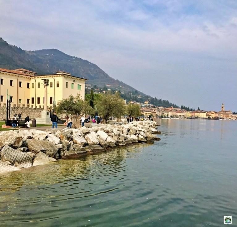 panorama Salò e lago di Garda