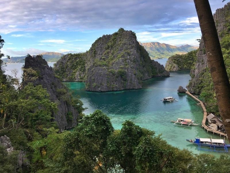 mare e spiagge Filippine