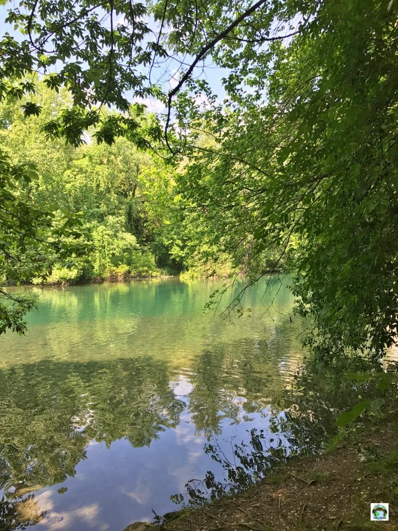 percorso sul fiume Oglio natura