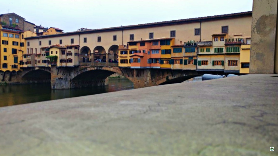 Ponte Vecchio a Firenze - Cocco on the road