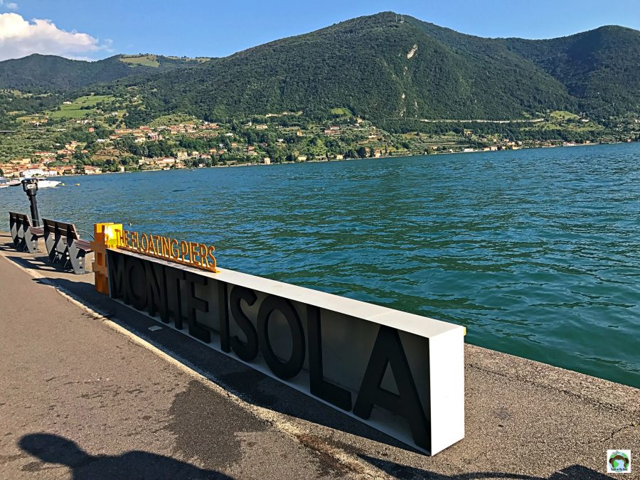 #thefloatingpiers-Cocco on the road