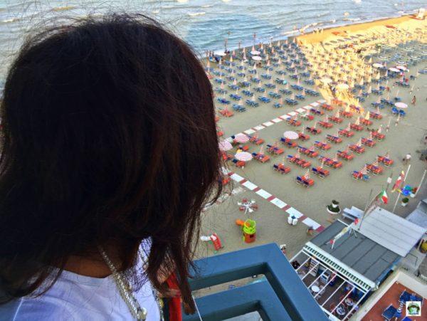 panorama mare Majestic Hotel Igea Marina