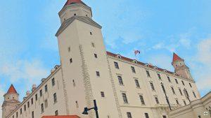 Cosa vedere a Bratislava il Castello - Cocco on th road