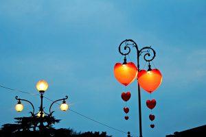 Cuori illuminati Verona in love - Cocco on the road
