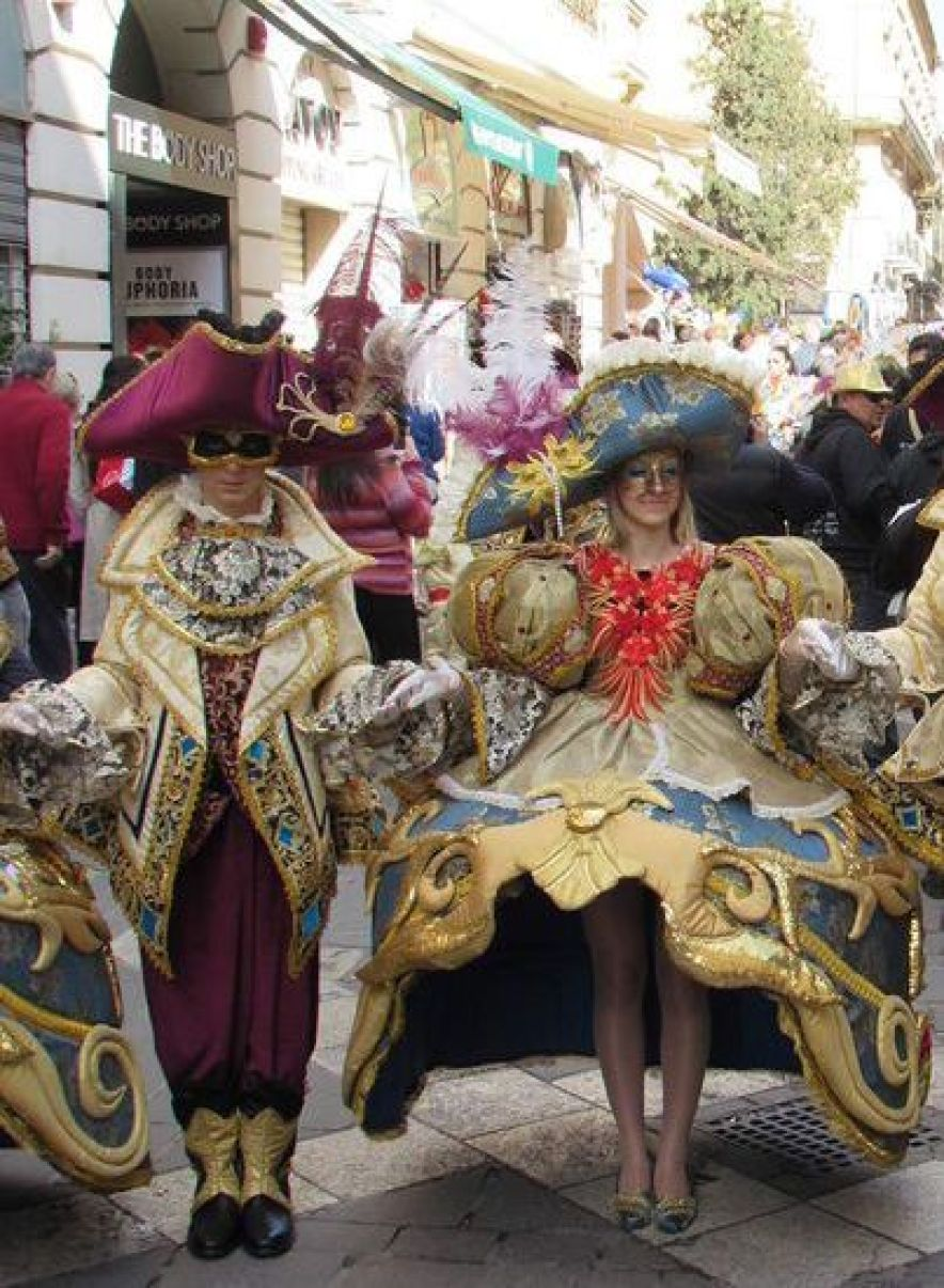 Carnevale a Malta - Cocco on the road