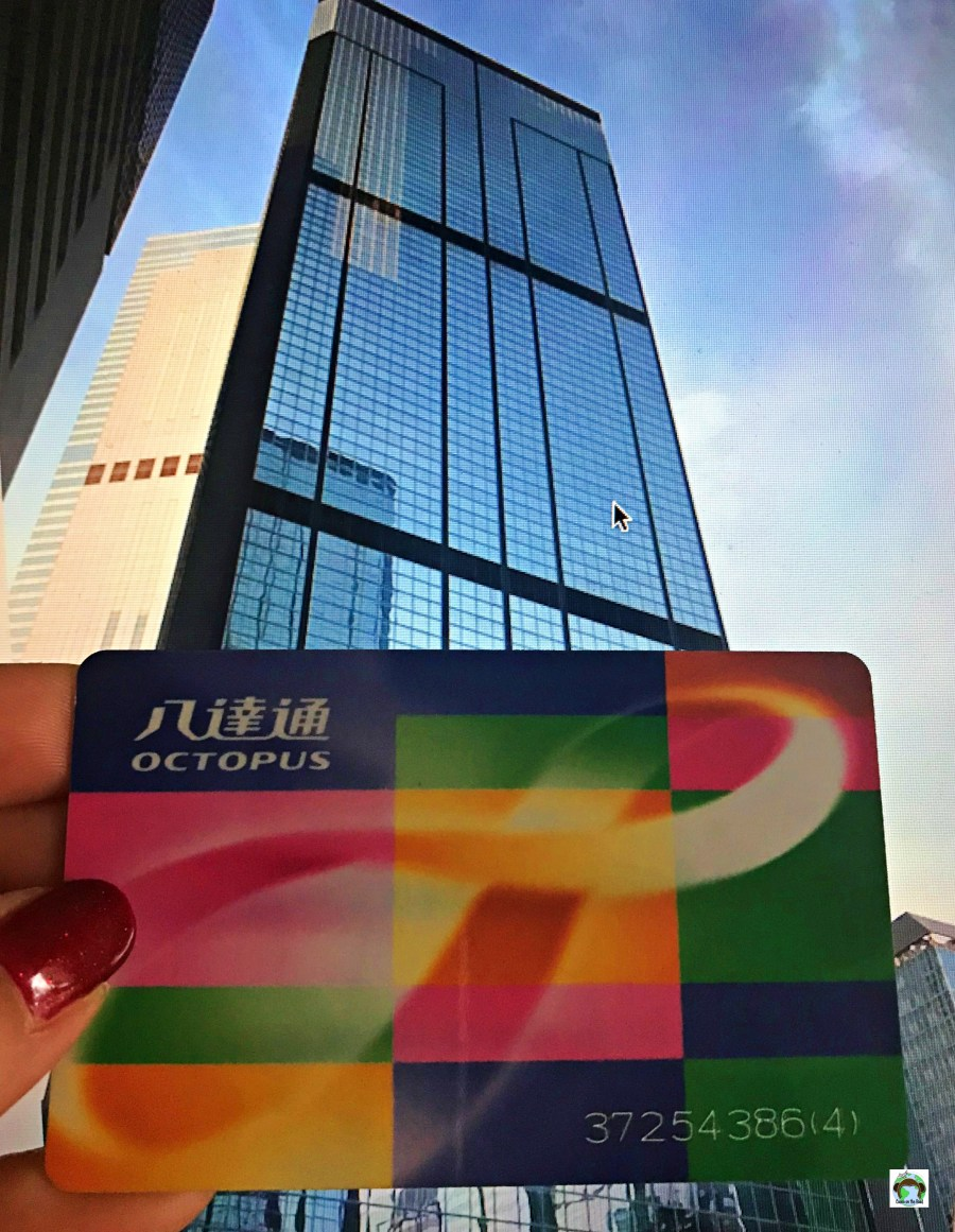 Octopus card Hong Kong - Cocco on the road