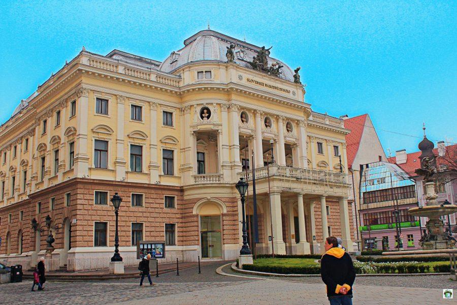 Teatro Nazionale di Bratislava - Cocco on the road