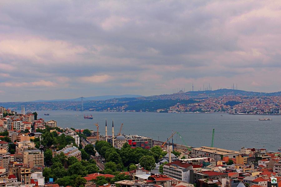 Vista dalla Torre Galata Istanbul