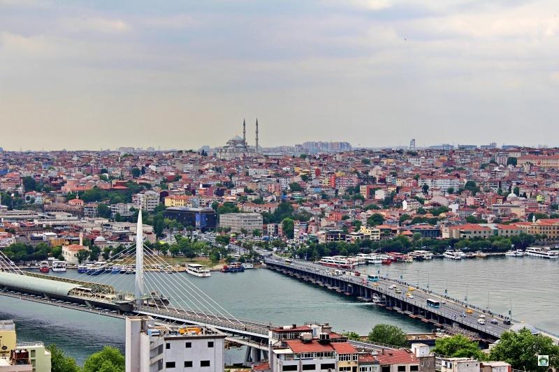 panorama Istanbul Torre di Galata