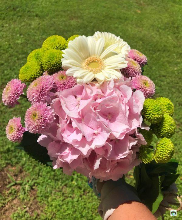 Bouquet di fiori freschi Punto fiore Events