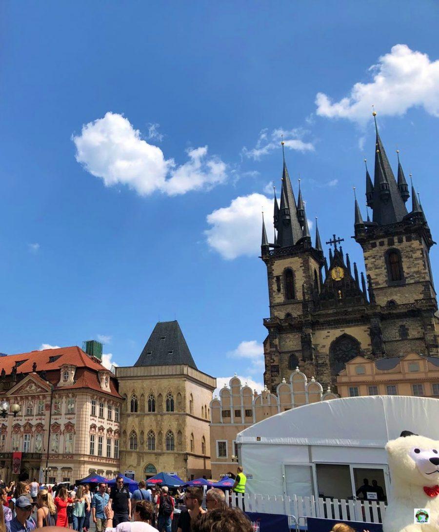Praga il castello