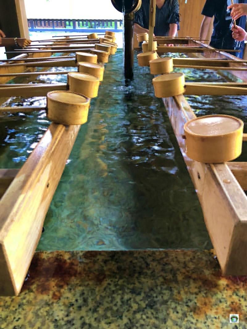 Acqua benedetta in Giappone