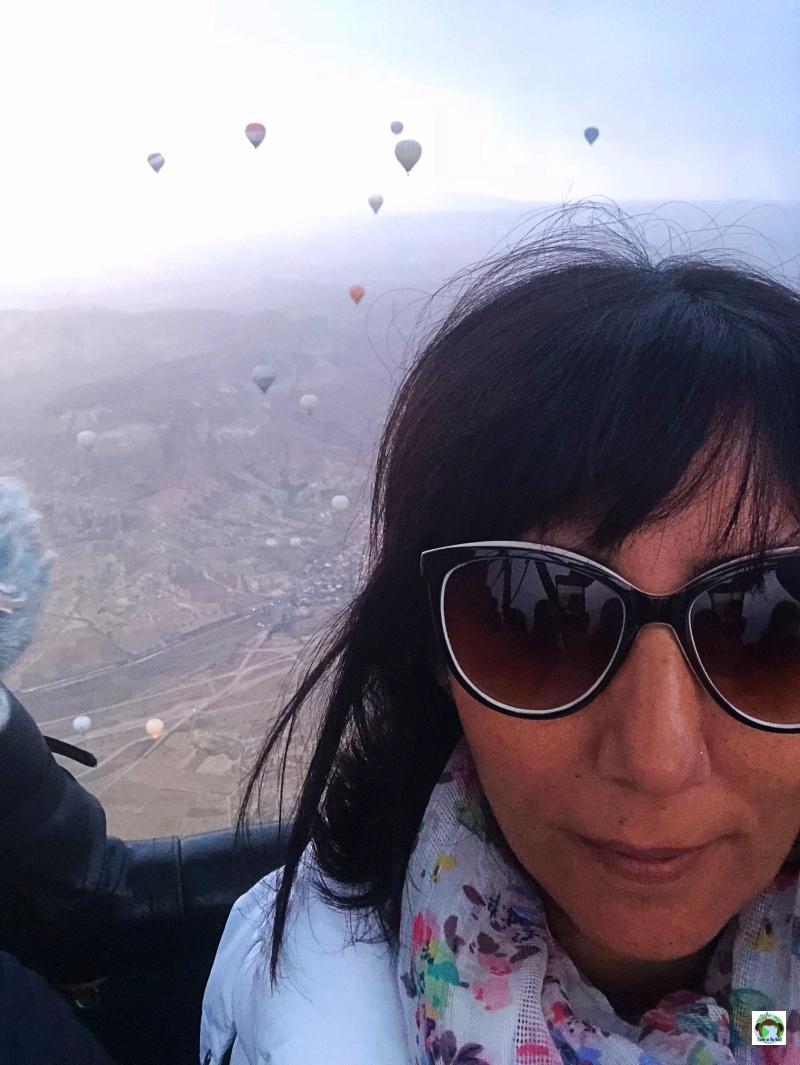 Il mio giro in mongolfiera cappadocia