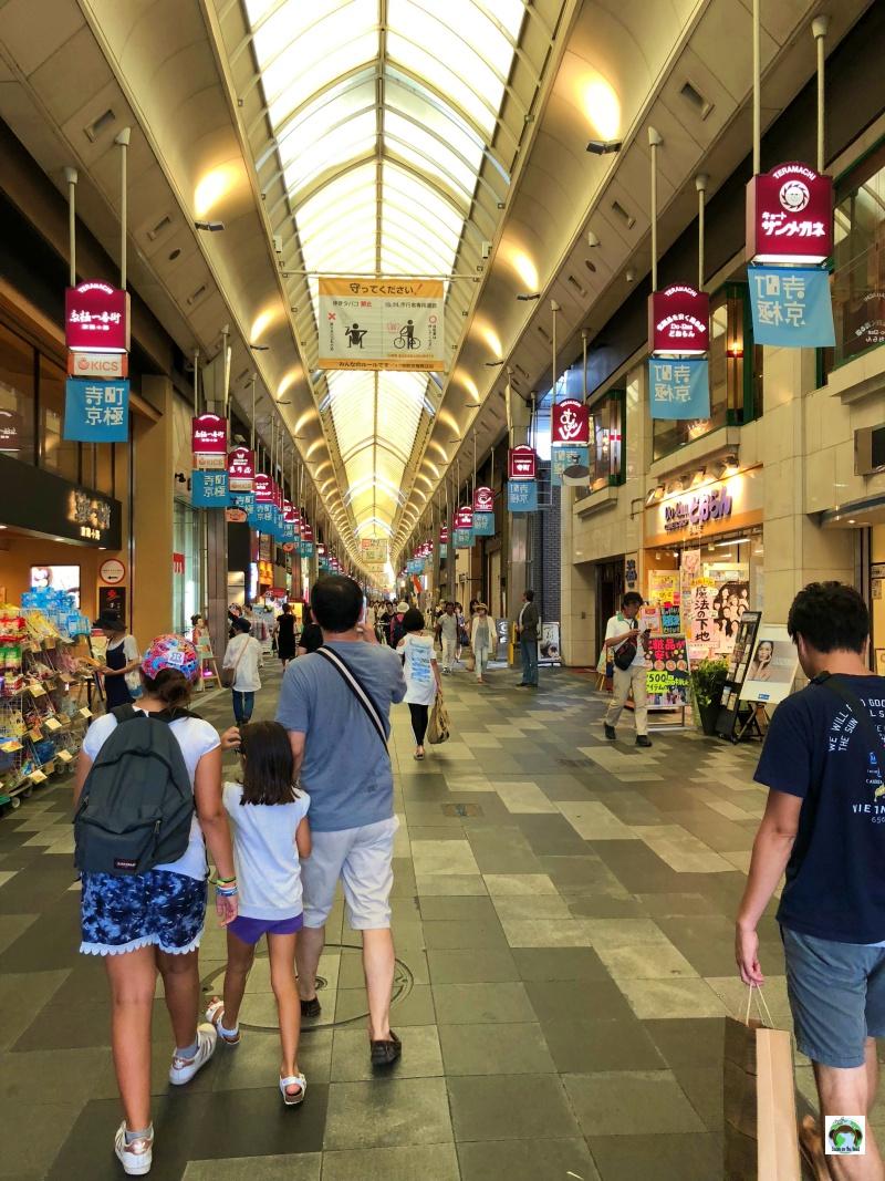 Nishiki Market a Kyoto