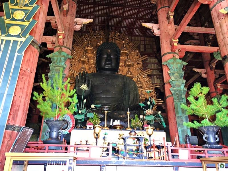 Tempio Tadaiji a Nara Grande Buddha