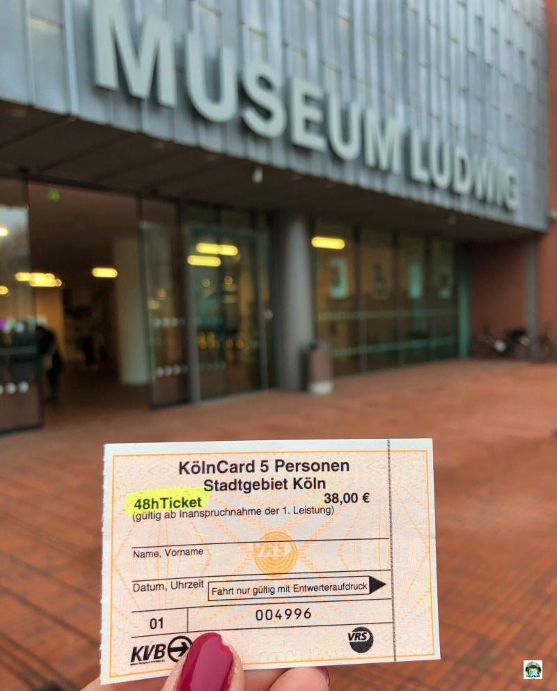 Museo arte moderna a Colonia