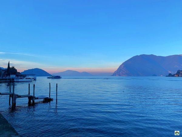 Alba a Monte Isola