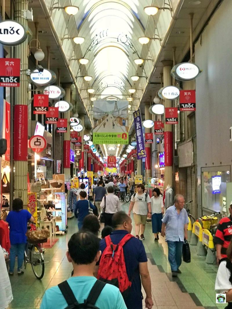 Osaka molto economica per lo shopping