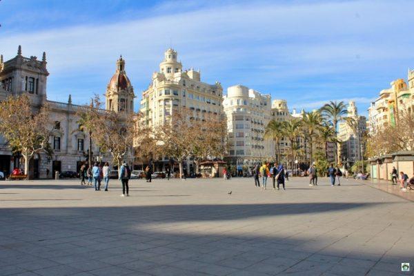 Plaza dell'Ayuntamiento a Valencia
