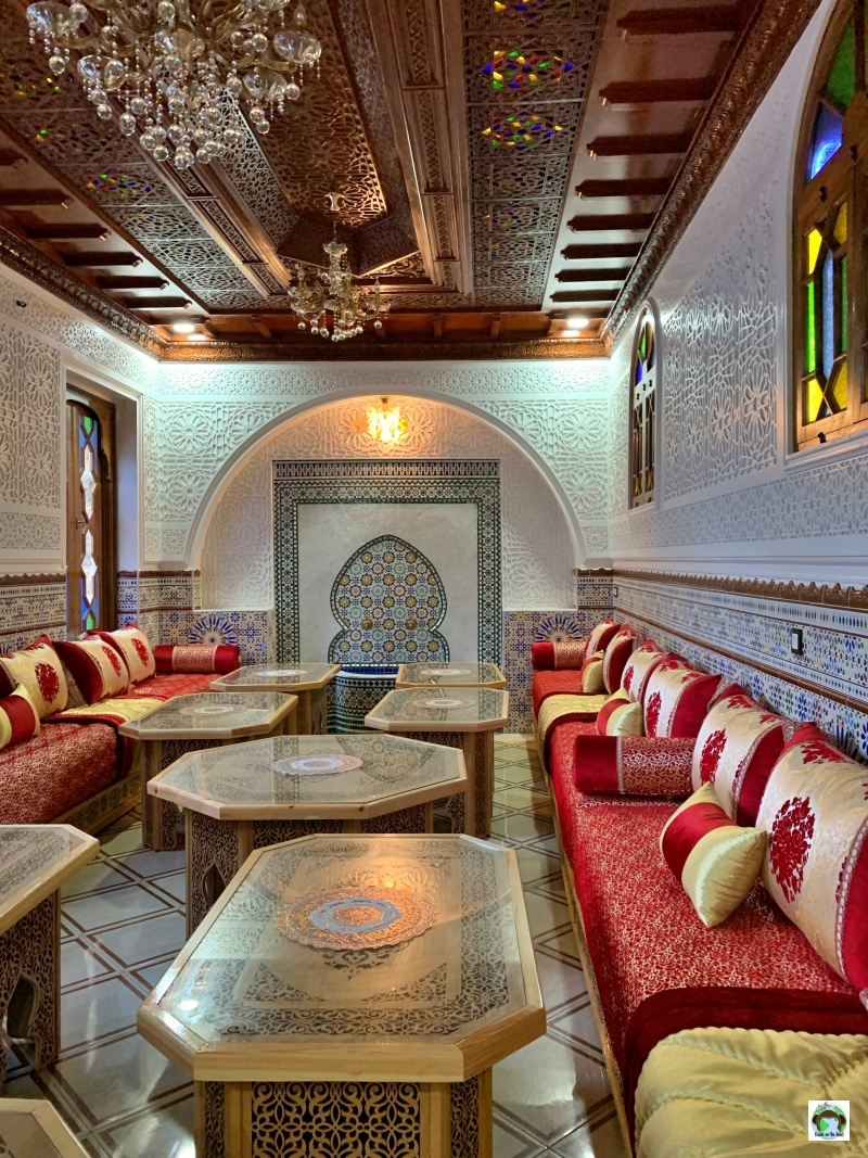 ristorante marocchino a Tangeri