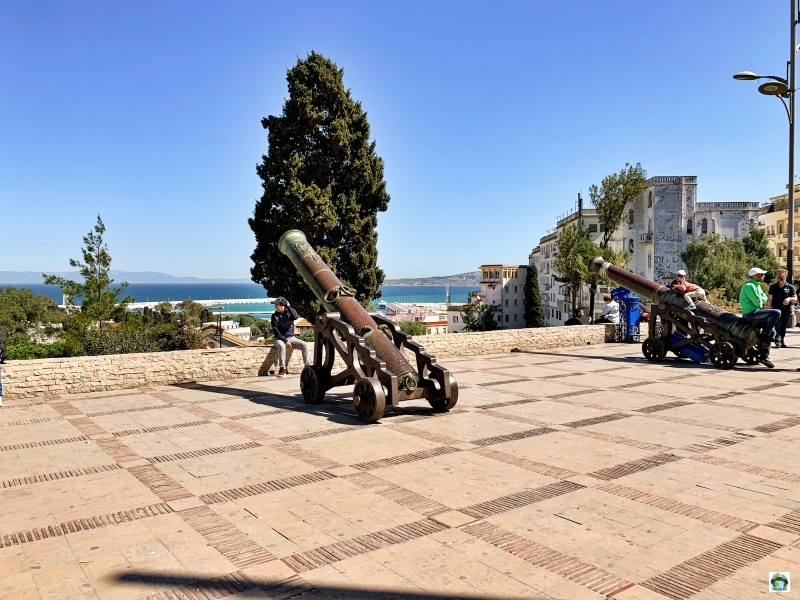 Cannoni panorama Tangeri