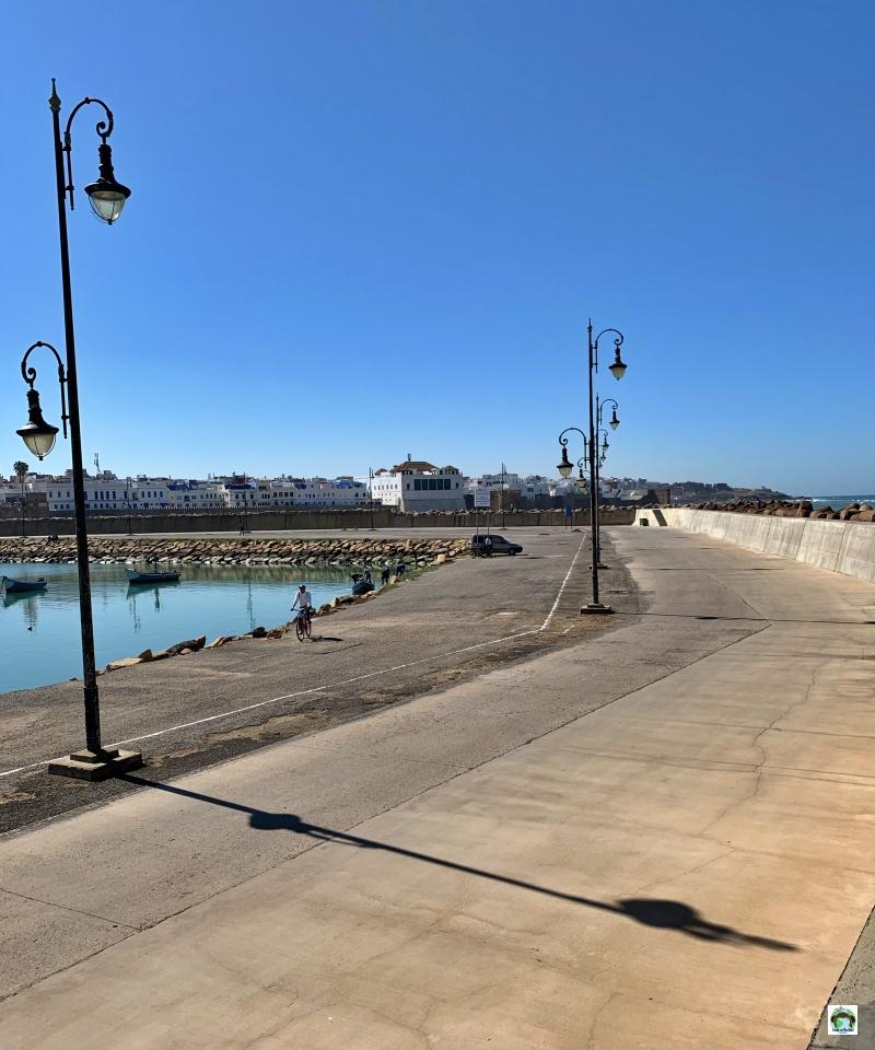 porto Asilah barche mare