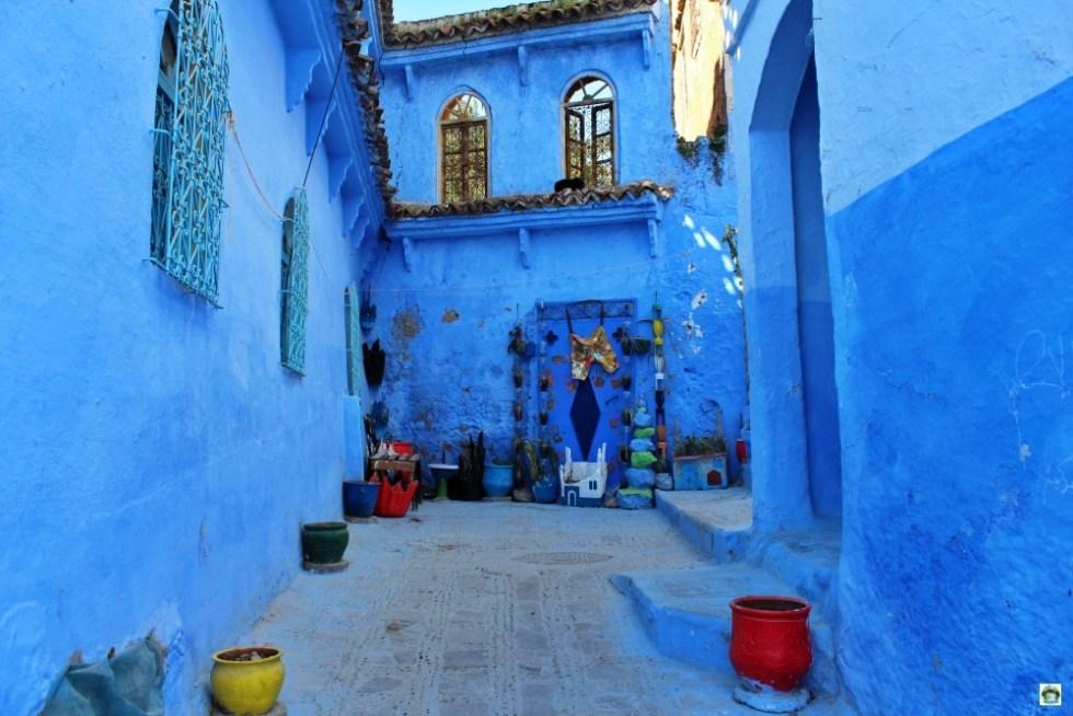 case blu di Chefchaouen