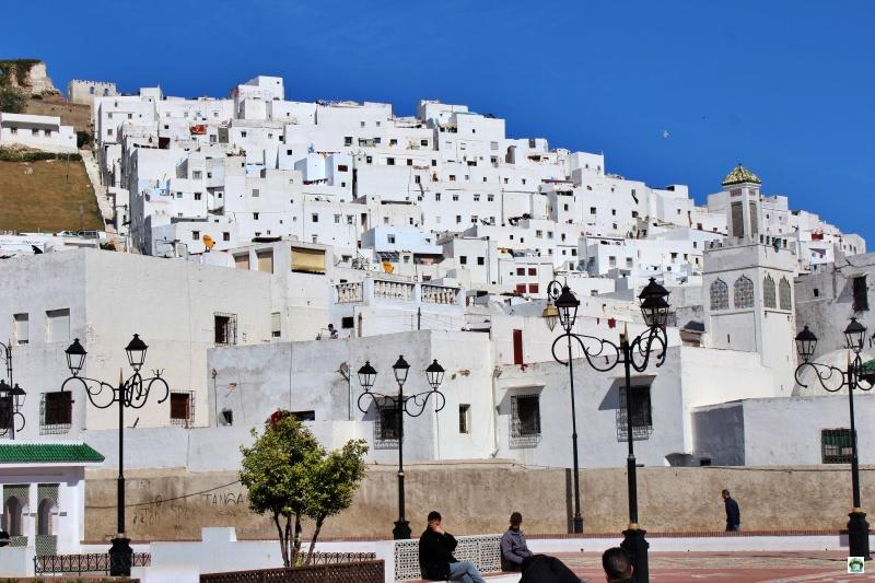 Medina Tetouan case bianche gente